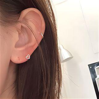 IFOUND - Heart Stud Earrings