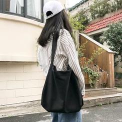 BAGuette - 純色帆布單肩包