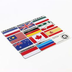 COZE - Flag Car Sticker