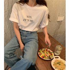 santrani - Short-Sleeve Printed T-Shirt