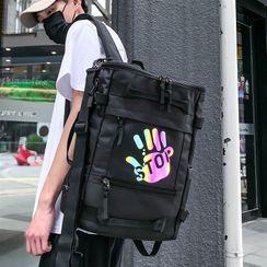 SUNMAN(サンマン) - Hand Print Crossbody Bag