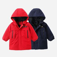 Happy Go Lucky - Kids Hooded Padded Jacket
