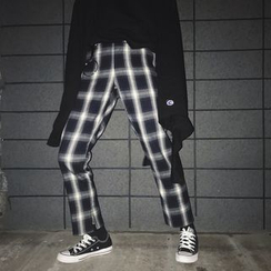 Sofame - Plaid Pants
