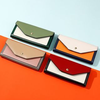 tablarosa(タブラロザ) - Block Flap Long Wallet
