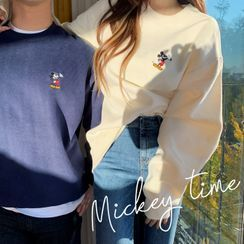 DEEPNY - Couple Mickey Mouse Napped Pullover