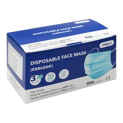 Hapi - Disposable 3-Ply Ear Loop Face Mask (50 pcs)