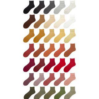 Saysmith - 纯色及踝袜子