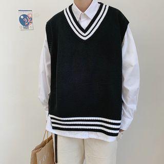 Andrei(アンドレイ) - V-Neck Knit Vest