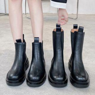 Bolitin - Platform Mid-Calf Boots