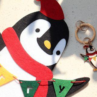 KIITOS - Christmas Non Woven Fabric Door / Wall Sticker (various designs)