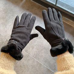 Pompabee - Fleece-lined Touchscreen Gloves