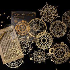 Little Planet - Metallic Diary Background Decorative Paper (various designs)