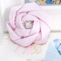 Fit-to-Kill(フィットトゥキル) - Multifunctional camellia hairpin + brooch -pink