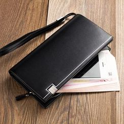 BagBuzz(バッグバズ) - Faux Leather Long Wallet