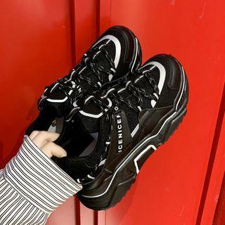 Shanhoo - 厚底休閒鞋
