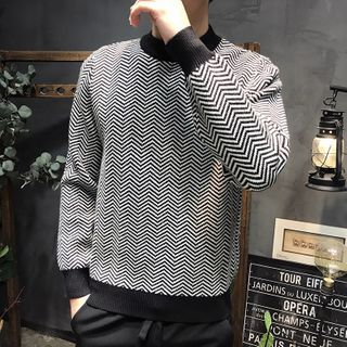 Bjorn - Wavy Pattern Sweater