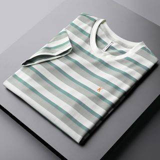 Lacock - Striped Short-Sleeve T-Shirt