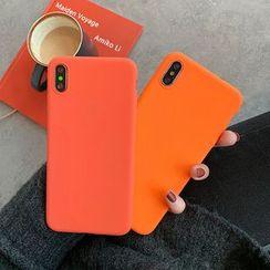 Aion - 纯色手机套 - iPhone XS Max / XS / XR / X / 8 / 8 Plus / 7 / 7 Plus / 6s / 6s Plus