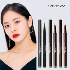MACQUEEN - Waterproof Pen Eyeliner (3 Colors)