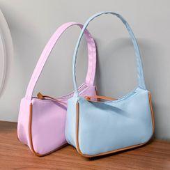 NewTown - Contrast Trim Shoulder Bag