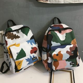 EAVALURE - Camouflage Lightweight Backpack