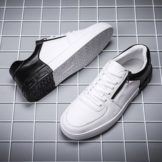 HANO - Color Block Lace-Up Sneakers