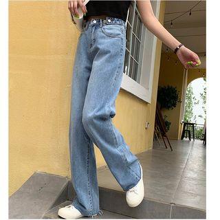 Whoosh - Pantalones vaqueros de pernera ancha