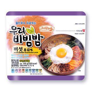Easybab - Korean Bibimbap Mushroom Flavor 100g