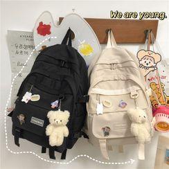 Novila(ノビラ) - Buckled Nylon Backpack