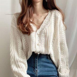 CEYX - Crocheted Cardigan