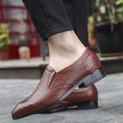 WeWolf - 真皮鏤空樂福鞋