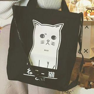 Minafox - Cat Print Tote Bag
