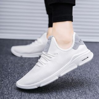 Viffara - Color Block Lace Up Sneakers