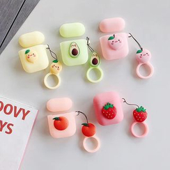 Vachie - 矽膠水果AirPods耳機保護套