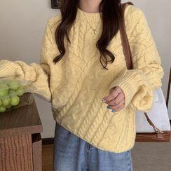 SaltEarth - 麻花針織毛衣