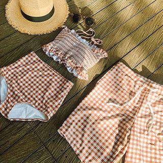 Roseate - Couple Matching Two-Piece Swimsuit / Swim Shorts