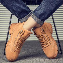 MARTUCCI - 厚底系带短靴