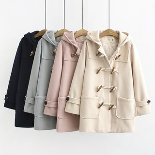Aigan - Hooded Toggle Coat