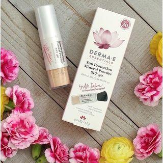 Derma E - Sun Protection Mineral Powder SPF 30, 0.14oz