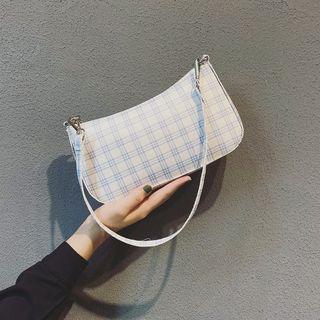 Mercillia - Plaid Shoulder Bag
