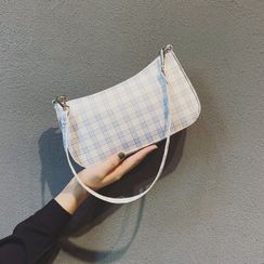 Mercillia - Plaid Shoulder Bag