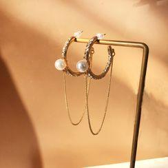 Yambo - Geometry Drop Earring
