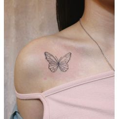 HANZ HAZEL - Butterfly Waterproof Temporary Tattoo