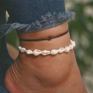 Terreau Kathy - Set: Shell / Knot Anklet