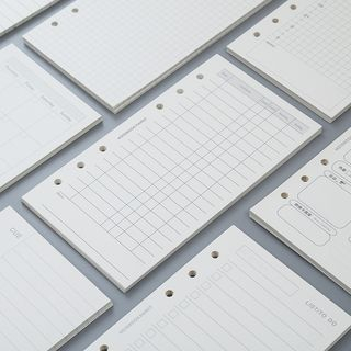 Wonbon - A5 / A6 Loose-Leaf Notebook Inset