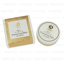 Makanai Cosmetics - Natural Lip Balm With Gold Leaf