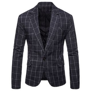 Peibo - Plaid Blazer