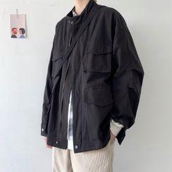 emeisa - Oversize Zip Jacket