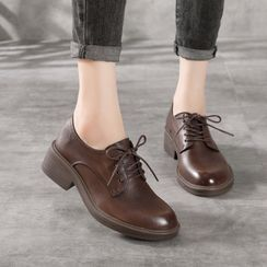 LARKSPUR(ラークスパー) - Genuine Leather Oxford Shoes