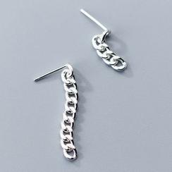 A'ROCH - 925 Sterling Silver Chain Drop Earring